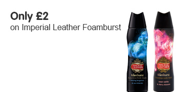 only two pounds selected foamburst