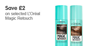 Save £2 on selected L'Oréal Magic Retouch