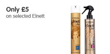 Only £5 on selected Elnett