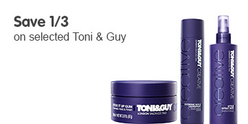 save third on selected toni and guy