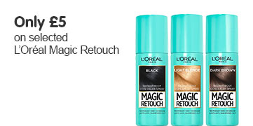 only five pound on selected loreal magic retouch