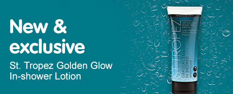 New and exclusive St Tropez Golden Glow
