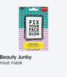 Beauty junkie mud mask