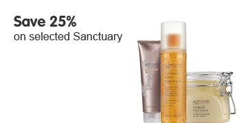 Save 25% on Selected Sanctuary Products