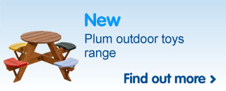 New Plum outdoor toys range