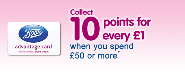 Toys collect ten points for every pound when you spend fifty pounds or more