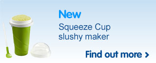 New Chill Factor Squeeze Cup slushy maker