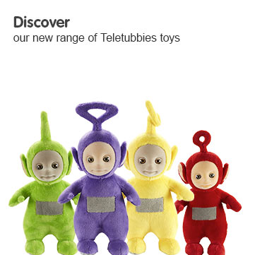 Discover our new range of Teletubbie toys