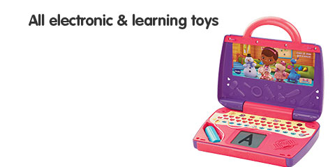 All electronic & learning toys