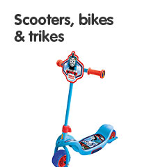 Scooters, bikes and trikes