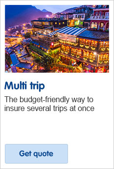 Multi trip travel insurance