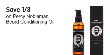 Save 1/3 on selected Percy Nobleman