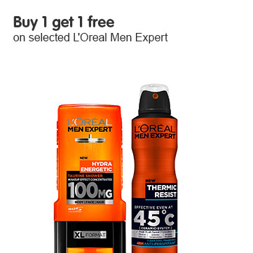 Buy 1 get 1 free on selected loreal