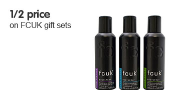 1/2 price on FCUK gift sets