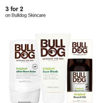 3 for 2 on selected Bulldog