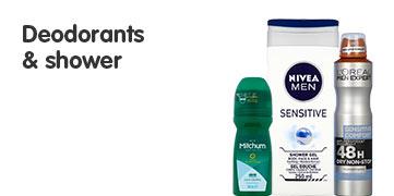 Deodorants & Shower