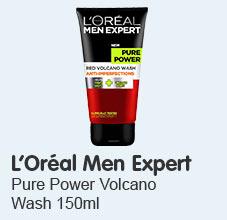 L'Oréal Men Expert Pure Power Volcano Wash 150ml