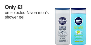 Only £1 on selected Nivea Men Shower
