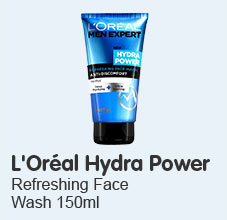Loreal Hydra Power Face Wash