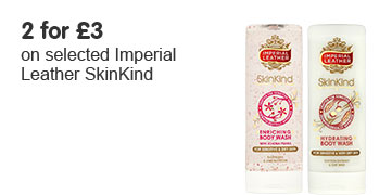 2 for £3 on selected Imperial Leather