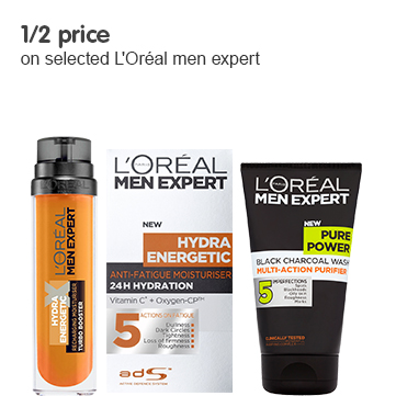 half price on selected loreal