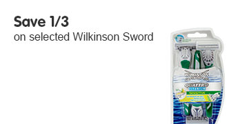 Save 1/3 on selected Wikinson Sword