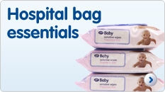 Pregnancy hospital bag essentials