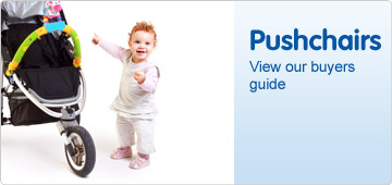 Pushchair buyers guide