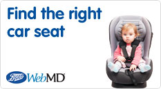 Find the right car seat for you