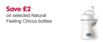 Save £2 on selected Natural Feeling Chicco bottles