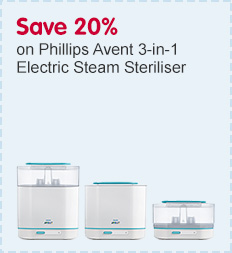 Save 20% on selected Philips AVENT