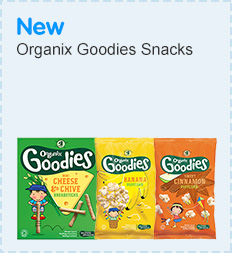 NEW Organix Goodie Snacks