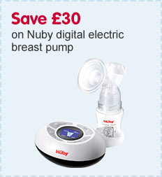 Save £30 on Nuby Natural Touch Digital Breast Pump