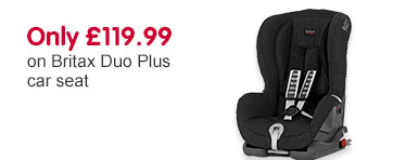 Only £119.99 on Britax Duo plus car seat