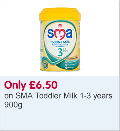 Only £6.50 on SMA toddler milk