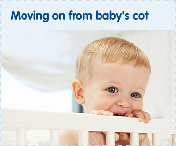 Moving on from baby's cot