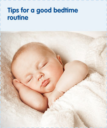 Tips for a good bedtime routine
