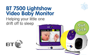 Our Pick BT 7500 lightshow baby monitor