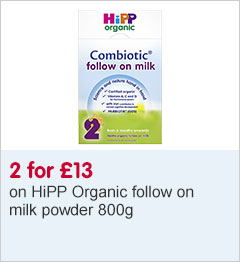 2 for £13 HiPP Organic follow on milk powder 800g