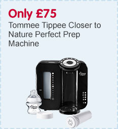 Only £75 on Tommee Tippee Closer to Nature Perfect Prep Machine