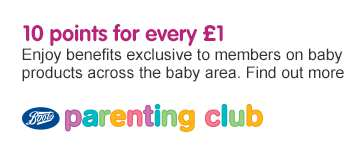 Parenting Club 10 Points for every £1