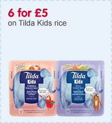 6 for £5 on Tilda Kids rice
