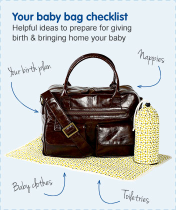 Your baby bag checklist