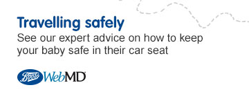 Travelling safely with baby. Expert advice on how to keep your baby safe in the car