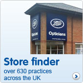 Opticians store finder over 630 practices nationwide