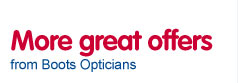 more great offer from Boots Opticians