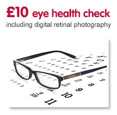 £10 eye test