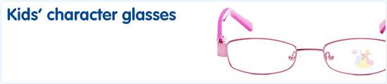 Kids character glasses