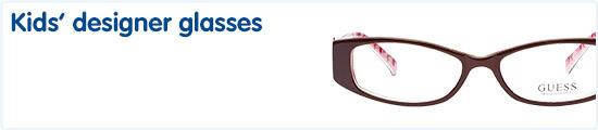 Kids designer glasses