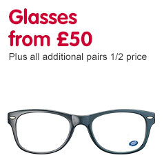 Glasses from £50